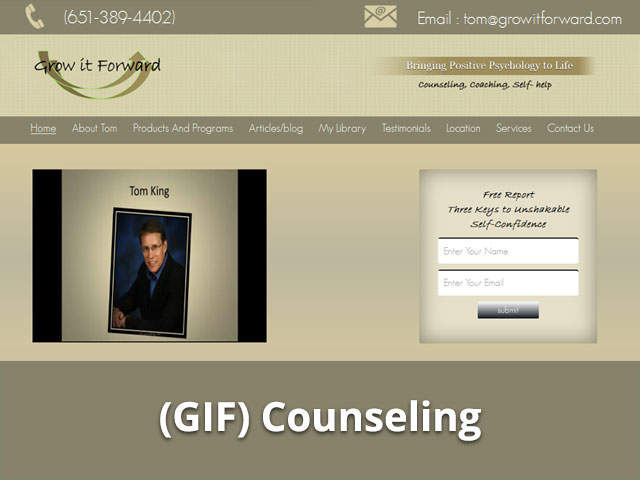 Case Study, Grow it Forward (GIF)Counseling