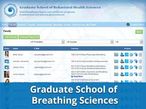 Case Study, Graduate College of Breathing Sciences